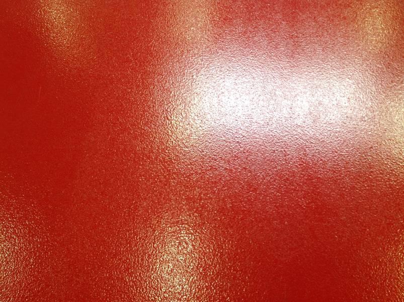 epoxyvloer rood
