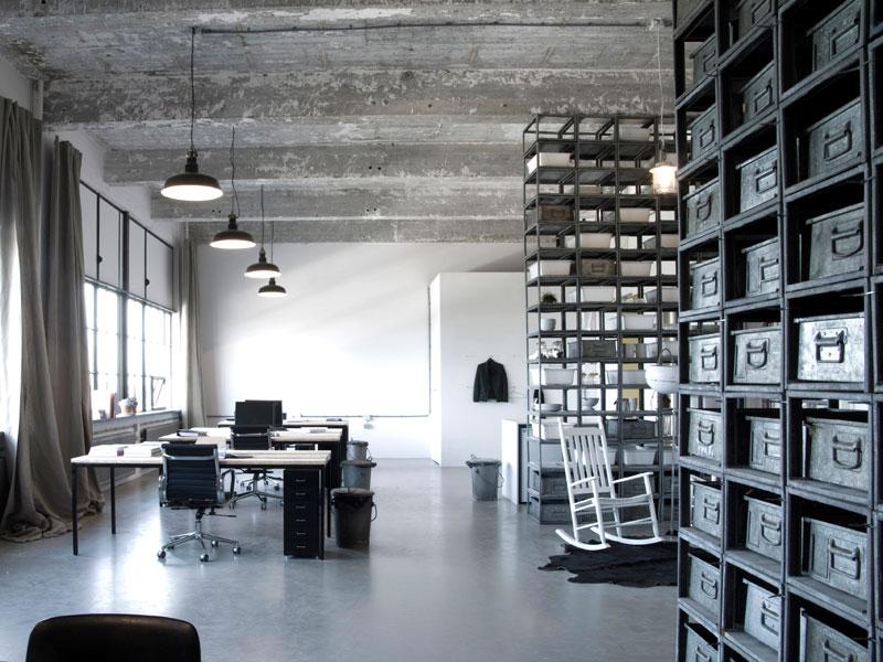betonlook gietvloer kantoor
